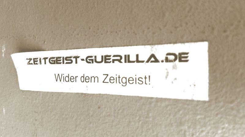 Coole Sache Zeitgeist Widerstand  Commercial Werbung Oder Doch Nicht?! Taking Photos Check This Out Sticker