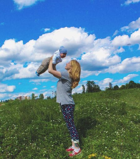 Love Fun Outdoors Blue Cloud - Sky People EyeEmNewHere IPhoneography Moments Women Around The World The Great Outdoors - 2017 EyeEm Awards