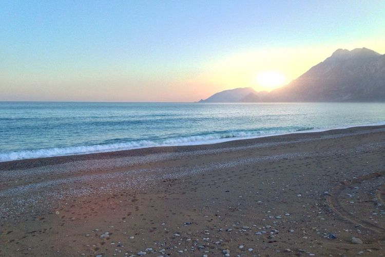 Sunset Seaside Beach