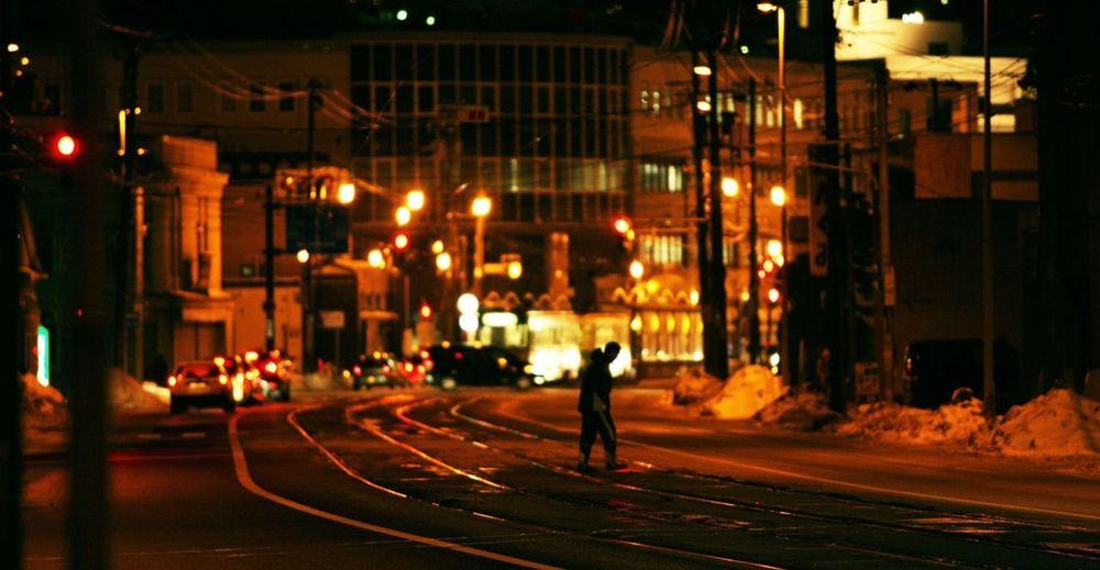 Nightphotography Tonight Is Streetphotography Hakodate [ hakodate, japan ]