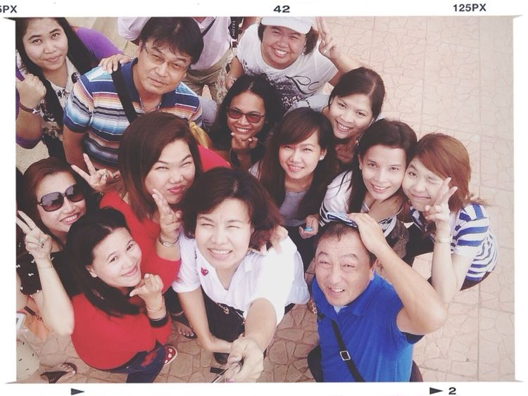 Happy together❤️? Selfie Thailand Holiday♡ CompanyOutting