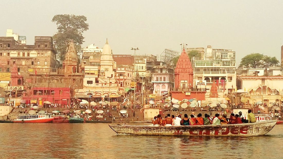 EyeEm Best Shots EyeEm Best Shots - Nature Temples Indian Culture  India Banaras Varanasi Ghats  Ghats On The Ganges Ganges Boat Boats And Water Boat Ride Ganga Ganga Ghat Boat Popular Photos Sea