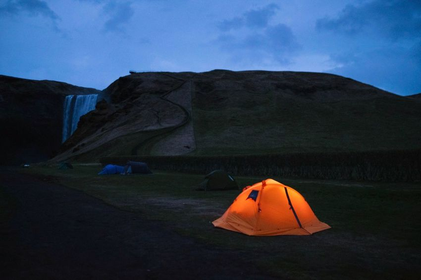 Island Iceland Capture Tomorrow Mountain Sky Nature Tent Beauty In Nature Environment Land Solid Landscape Tranquility No People Camping Rock Rock - Object Tranquil Scene Adventure Rock Formation Non-urban Scene Scenics - Nature Mountain Range It's About The Journey