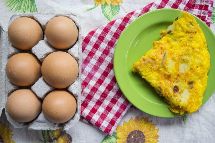 slice of potato omelette Egg Frittata Omelet Omelette Potato Shell SLICE Wedge