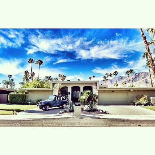My house for the weekend. Summerfinale Onelasttime IheartPalmSprings