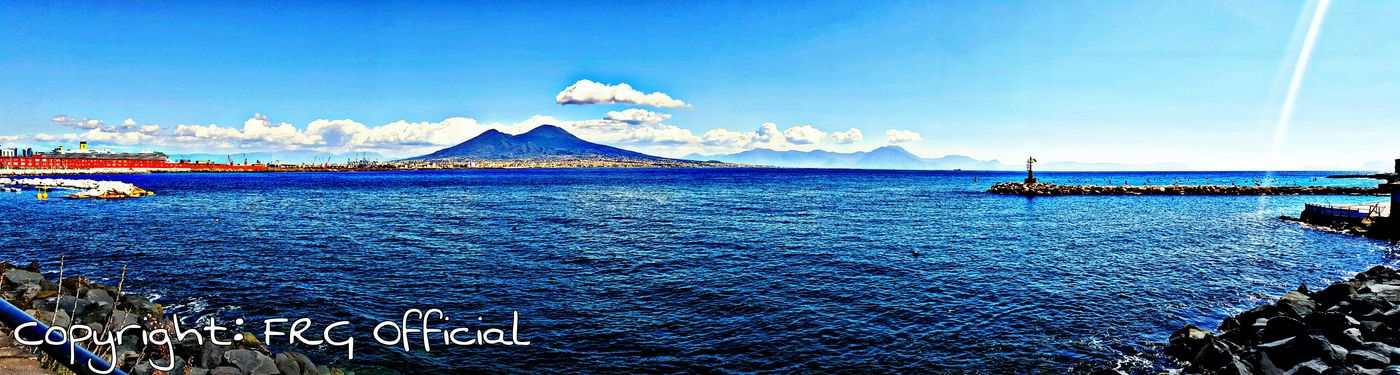 Hanging Out Taking Photos Check This Out Hello World Relaxing Enjoying Life Feelings Taking Photos Samsung Galaxy S6 Edge City_nature Hdr Edit Vesuvio Clouds And Sky Napoli_foto Naples Sea Side Sea And Sky