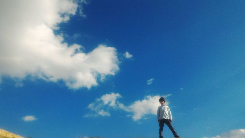 Blue Cloud - Sky Cloud Beauty In Nature Sky Nature Outdoors Malatya Mavigökyüzü Bulutlar Türkiye Brother