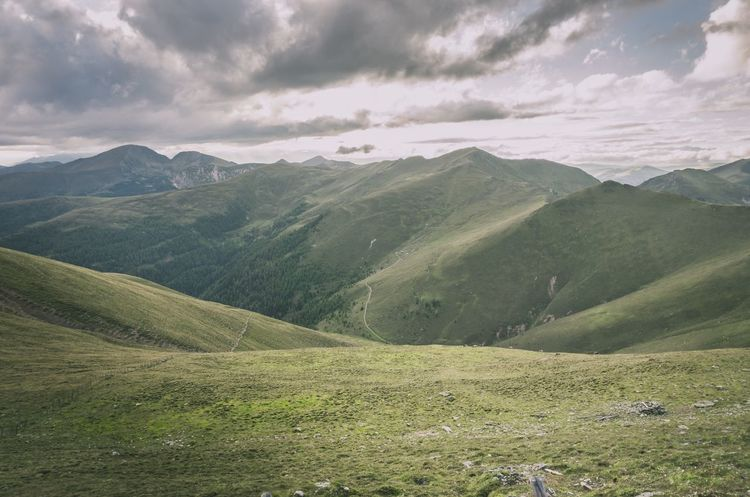 View frim Falkert Mountain Landscape Nature Sky Outdoors Landscape_photography Nature Photography Hiking Nature Grass green Green clou Clouds Panorama Alps