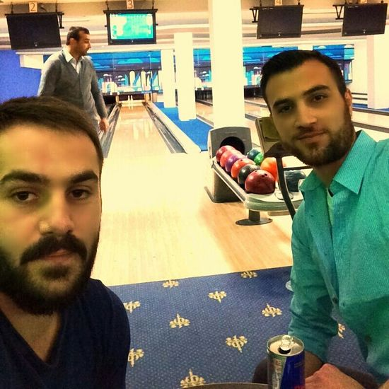 Relaxing Quality Time :))✌️✌️😎✌️✌️ Happy Freinds Good Times Bowling(: Bowling Saeed Ebadzadeh