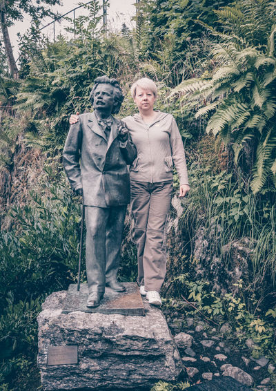 Woman and Grieg
