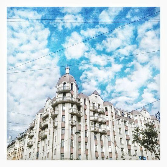 Sky Building Exterior Architecture Day Beautiful View Saint Petersburg Cloud - Sky Spb No People Spb_live