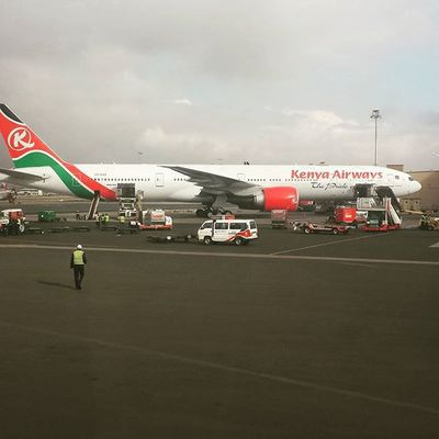 Kenyan Airways... The pride of Africa MyAfricanVacation Kenyanairways Tanzania
