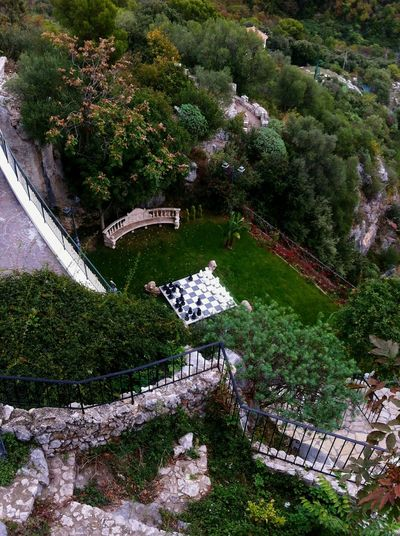 Secret Garden Garden Luxury French Riviera Chess Nature Yard Trees Green World Mansion