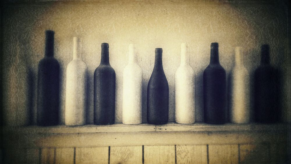 Empty Bottles , Winebottles