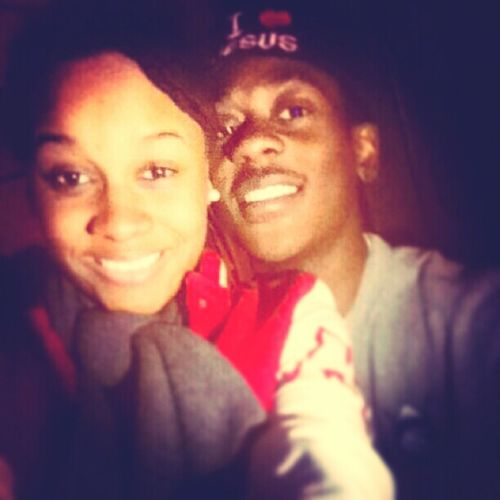 Me & my baby last friday night (: Love him to NO end <3