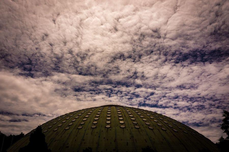 UFO Blue Sky Building EyeEm Porto