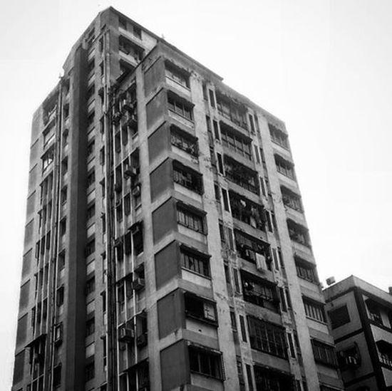 Why so concrete? (3) Architecture Architecturelovers Concrete City CityOfJoy Kolkata Blackandwhite _ccal