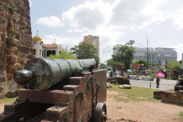 A Famosa Cannon Melaka Melaka , Malaysia Melaka Heritage City Melaka Malaysia The World Heritage No People