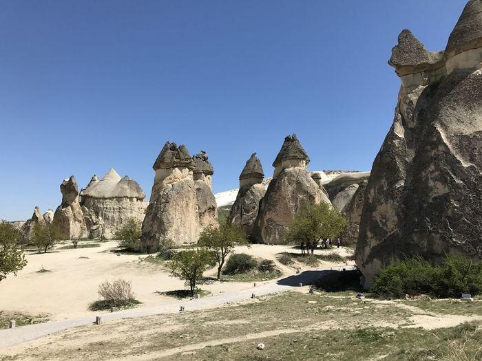 Kapadokya - Göreme -Türkiye HistoryBaca Kapadokya Blue Clear Sky Day Göreme Landscape Lanscape Mountain Nature Outdoors Peri Scenics Sky Wallpaper ürgüp