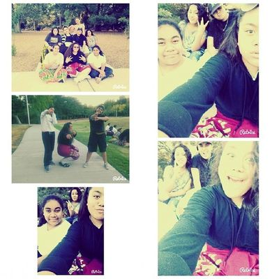 Earlier today @ channing park with the gals Wecutewecute PENIELISQUAD WeReady