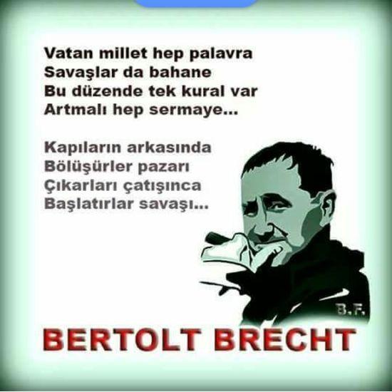 İste bumudur bu! Berthold Brecht Yazarlar