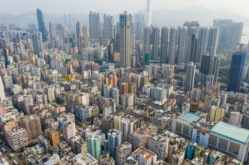 Hong Kong aerial photography Hong Kong City HongKong Aerial View Aerial Photography Aerial Shot Building Exterior City Cityscape Downtown China City View