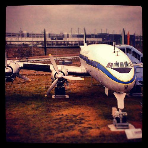 Airport Munich Lockheed L-1049 G SuperConstellation