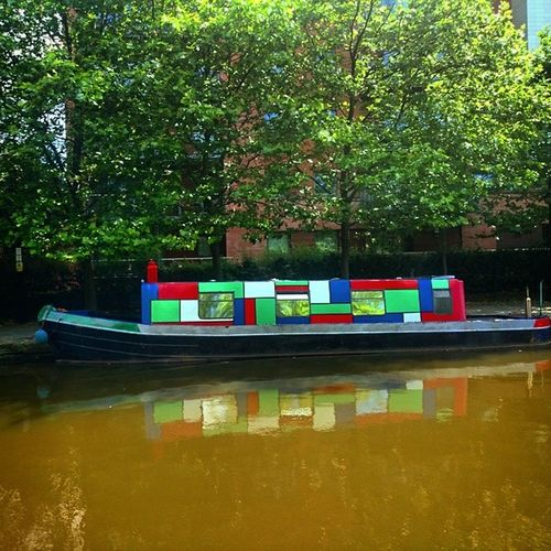 Retro MCR Manchestercanal Manchester Canallife Canal Barge Castlefields Beautiful Natural Traveling