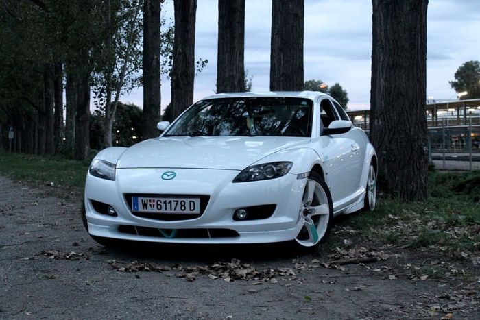 Mazda RX-8 Rx8 Car White Jdm Rx8Life