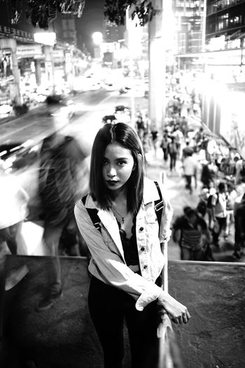 Eye4black&white  EyeEm Gallery The Street Photographer - 2017 EyeEm Awards Eye4black&white  Eye4thestreets The Portraitist - 2017 EyeEm Awards Eye4blackandwhite Only Women Eyeforblackandwhite Monochrome EyeEm Best Shots Portrait Of A Woman Streetxportrait Streetleaks  Streetlifephotography One Young Woman Only Young Women Eye4emotions