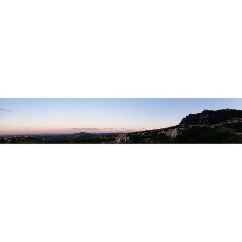 Sanmarino Panoramicview Landscape Emiliaromagna Repubblicadisanmarino Republicofsanmarino Montetitano Italy