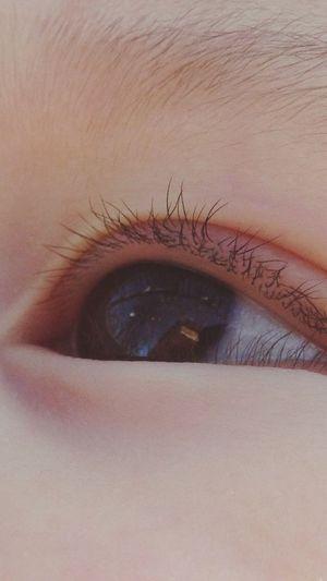Baby's Eye Reflection