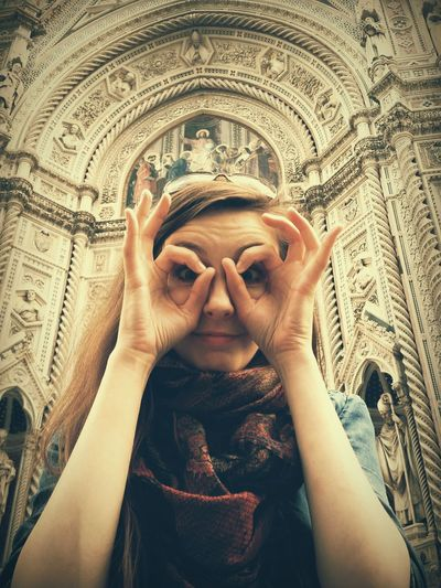 Portrait Photography Sister ❤ Florence Italy Santa Maria Del Fiore Samsungphotography Samsung Galaxy S5