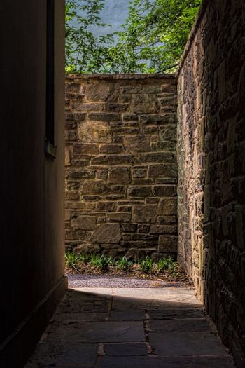 Winterthur Delaware Stone Sunlight Sunlight And Shadow