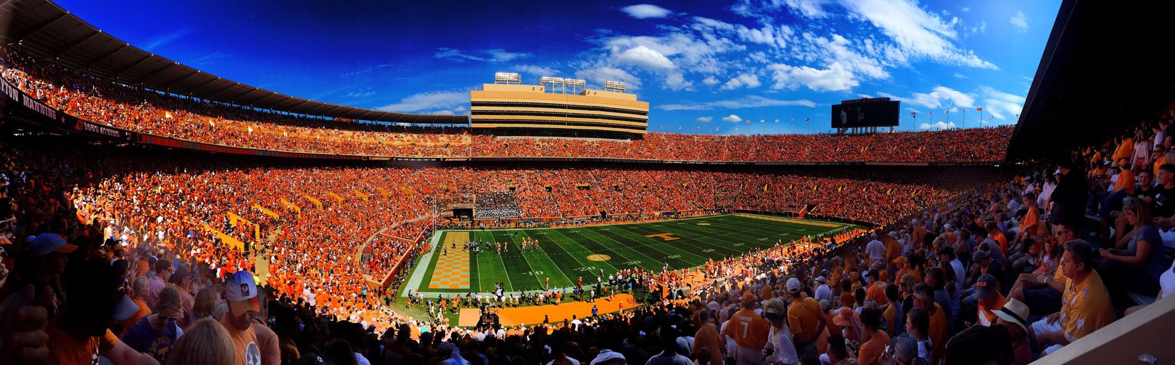 Vols Crowd Large Group Of People Football Football Stadium