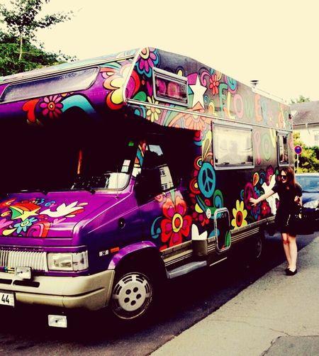 Ein Traum mit so einem Auto unterwegs zu sein. First Eyeem Photo Hippie ✌ Flowerpower🌸 FirstEyeEmPic Happy People