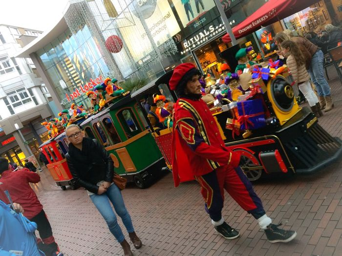 The Photojournalist - 2016 EyeEm Awards Netherlands Zoetermeer Sinterklaas Train Zwarte Piet