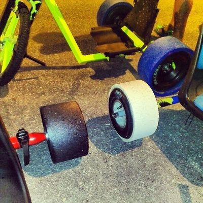 Got bigger wheels? Drifttrike F3W BruneiDT Drifttrikebuddies