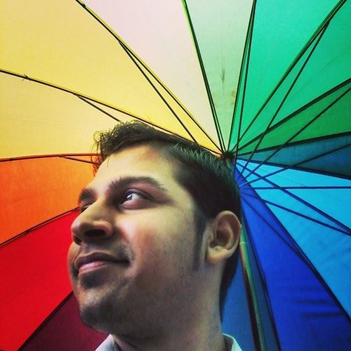 Colourful Rainfall Tags : ➡ Monsoon Rain Fallingrain colourful umbrella selfie photospree