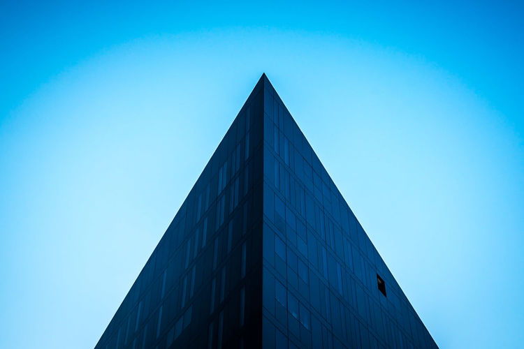 Architecture Architecture Building Exterior Built Structure Clear Sky Day Geometric Shape Geometric Shapes Geometry Low Angle View Minimal Minimalism Minimalism_masters Minimalist Minimalist Architecture Minimalist Photography  Minimalistic Minimalmood Minimalobsession No People Outdoors Pyramid Sky Minimalist Architecture The Architect - 2017 EyeEm Awards The Graphic City