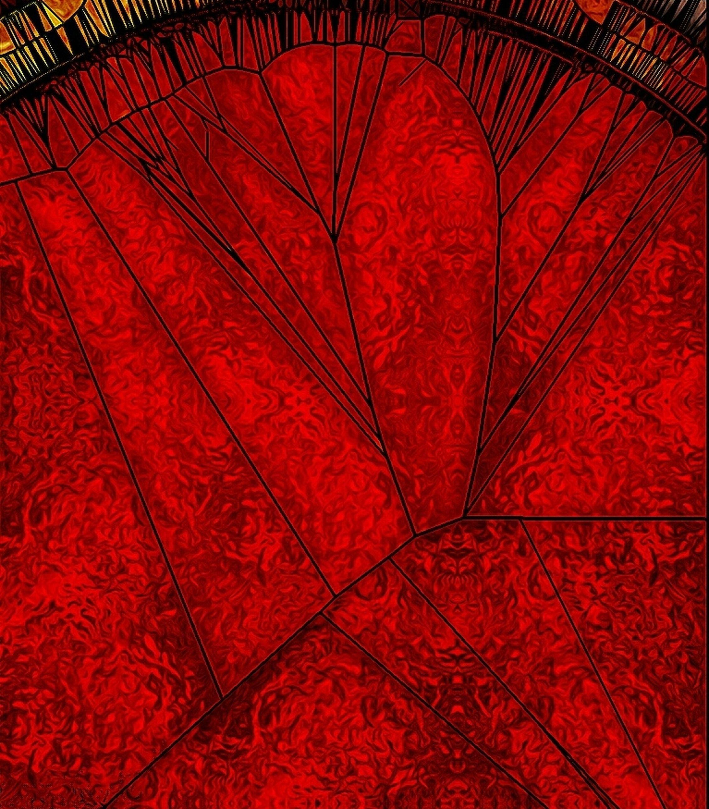 red, full frame, backgrounds, vibrant color, leaf vein, close-up, leaf, red color, extreme close-up, softness, red background