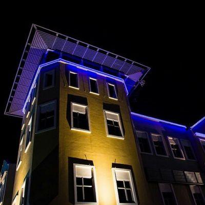 Night Lights Lowlight Damansara Thecurve Building