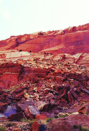 Sandstone Color Beautiful Colors Blue Sky National Park Utah Capital Reef Great Outdoors With Adobe