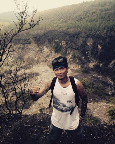 Adventure Soputanmountain Kawahtua INDONESIA Sulawesiutara