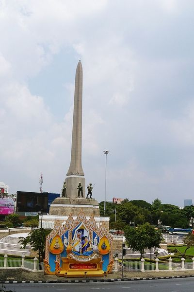 Victory Monument- Thailand Victory Monument Bangkok Democracy Monument Victory Monument Thailand Photos Thailandtravel Bangkoktrip Monuments Victory Monument กรุงเทพมหานคร กรุงเทพ Bangkok Thailand Bangkok Thailand Bangkokcity BangkokThailand History Historical Building อนุสาวรีชัย์สมรภูมิ อนุสาวรีย์ชัยสมรภูมิ City Cityscape Multi Colored Politics And Government Patriotism Arts Culture And Entertainment Urban Skyline Sky Architecture Built Structure