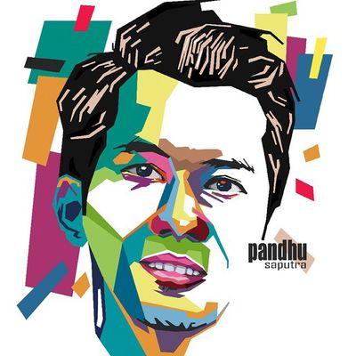 Face Colouring  Draw Wpap Art Artdaily Popart Design Gift Pandhusaputra @pndsptr By_riobhintoroo Photoshop Psd  Jpeg Image Edit Indonesian Instagram