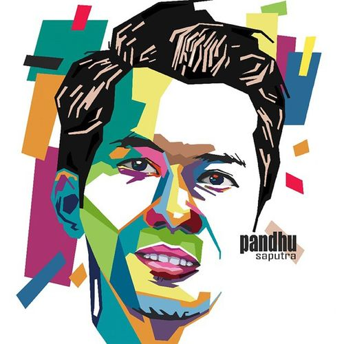 Face Colouring  Draw Wpap Art Artdaily Popart Design Gift Pandhusaputra @pndsptr By_riobhintoroo Photoshop Psd  Jpeg Image Edit Indonesian Instagram