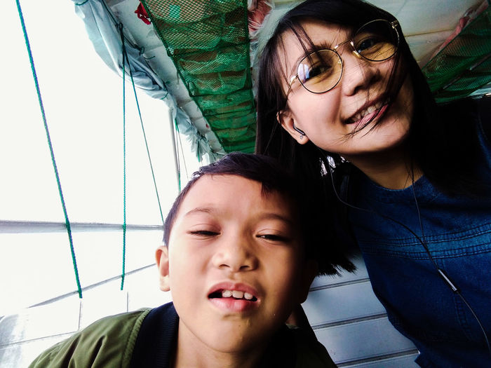 Mother And Son Travel EyeEm Selects Togetherness Headshot City Love Close-up Sky