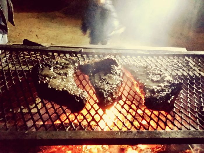 BBQ Time Nothing But Love California Knows How To Party Fire Pit Late Night Snack Close-up Outdoors Beauty In Nature Majestic Natural Beauty