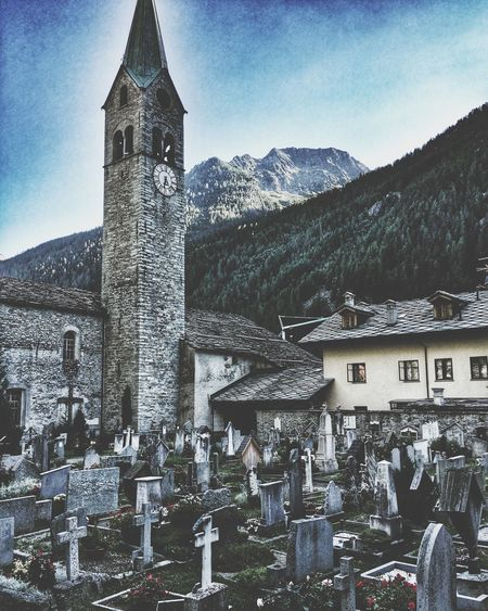 Cemetery Mountains Photography OpenEdit